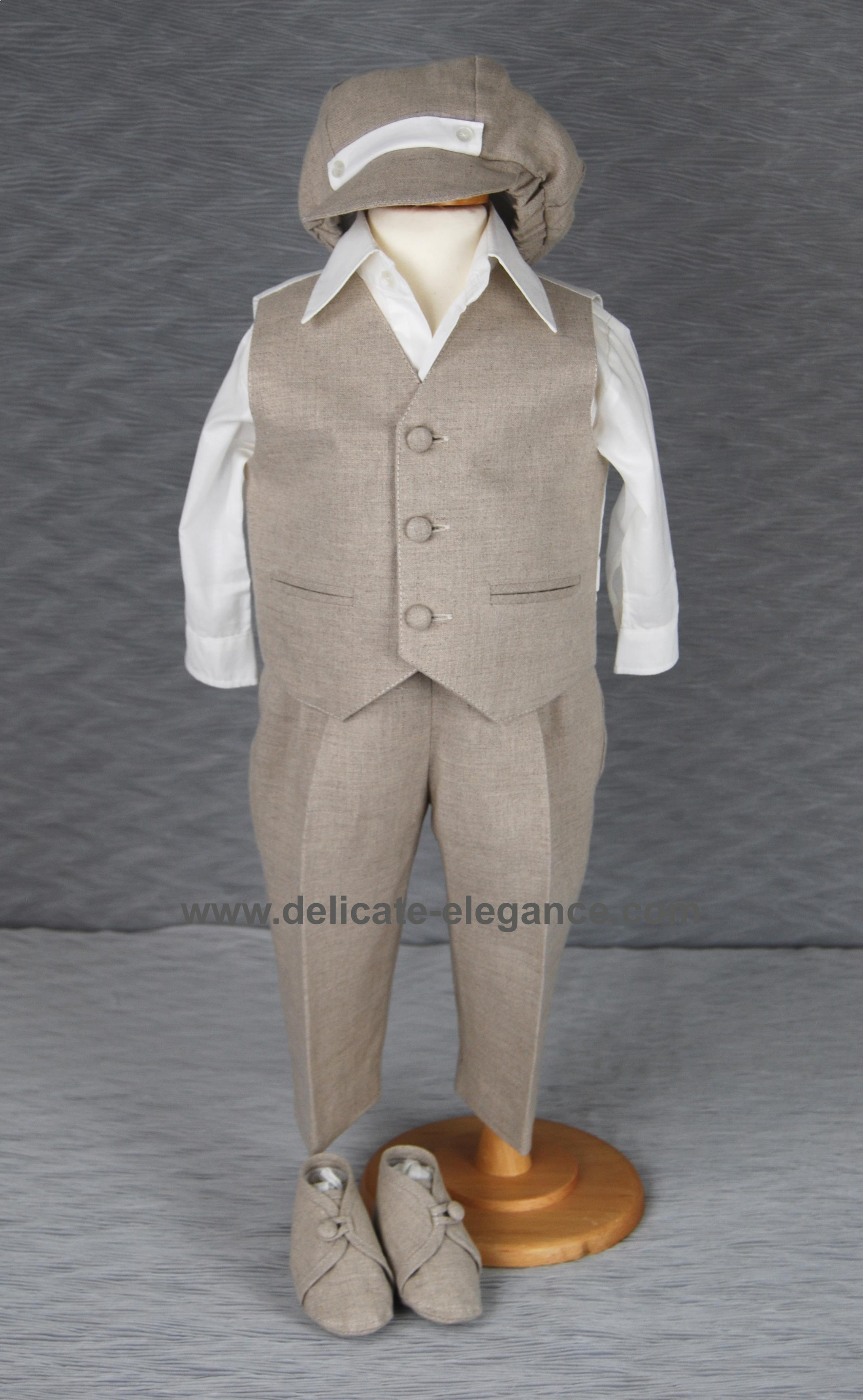 1210: Boys' Four-Piece Christening Suit