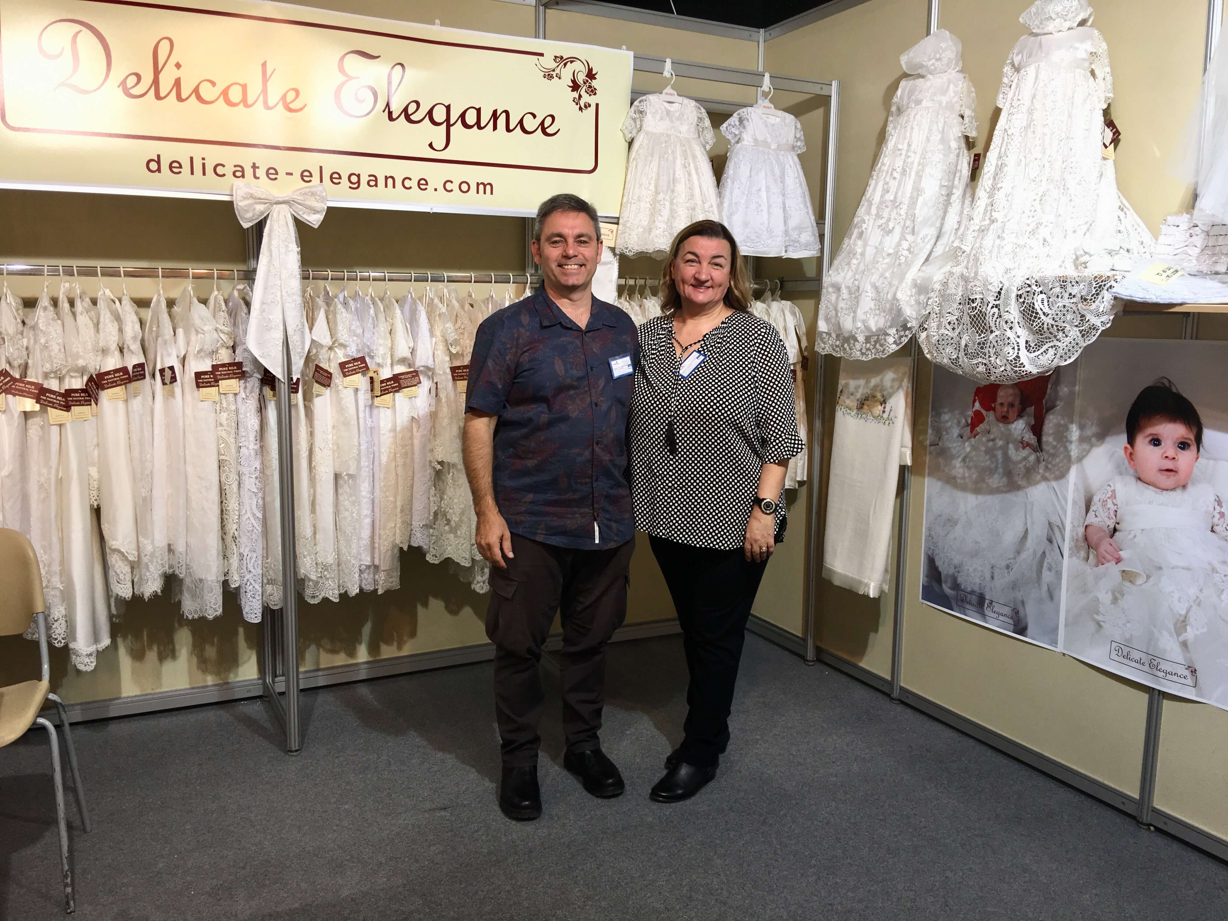 Delicate Elegance At The Euroline Christening Couture Trade Show In